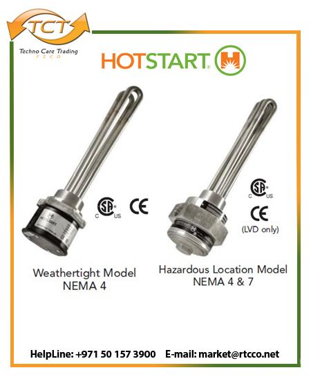 Hotstart Oil Heater – Industrial Immersion Models
