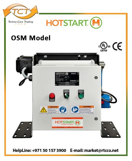 Hotstart OSM Oil Only Forced Circulation Heater